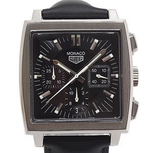 TAGHeuer TAG Heuer Men's Watch Monaco Chronograph CS2111.FC8119 Black (Black) Dial
