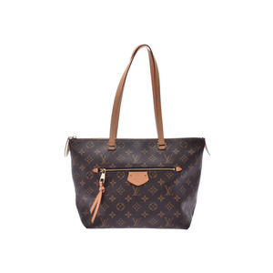 Louis Vuitton Monogram Jena PM Brown M42268 Ladies Genuine Leather Tote Bag AB Rank LOUIS VUITTON Used Ginzo