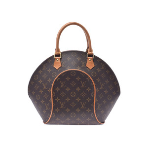 Louis Vuitton Monogram Ellipse MM Brown M51126 Ladies Genuine Leather Handbag AB Rank LOUIS VUITTON Used Ginzo