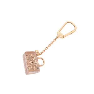 Louis Vuitton Portocle Speedy Unclusion Pink Beige M65320 Ladies Keychain A Rank LOUIS VUITTON Used Ginzo