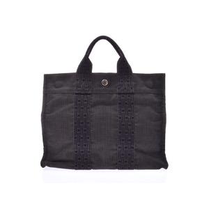 Hermes Aleline Tote PM Gray Men Women Bag B Rank HERMES Used Ginzo