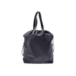 Louis Vuitton Eclipse Cava Light Black M44228 Men's Bag A Rank LOUIS VUITTON Used Ginkura