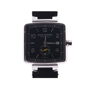 Louis Vuitton Speedy Black Dial Q263G Men's Women's SS / Leather Automatic Wrist Watch A Rank Good Condition LOUIS VUITTON Used Ginkura
