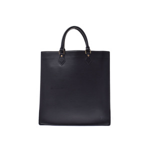 Louis Vuitton Epi Sack Plastic Black M40897 Men's Women's Leather Tote Bag B Rank LOUIS VUITTON Used Ginkura