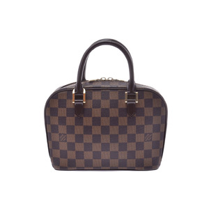 Louis Vuitton Damier Sarria Mini Brown N51286 Ladies Genuine Leather Handbag A Rank Good Condition LOUIS VUITTON Used Ginzo