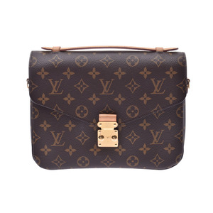 Louis Vuitton Monogram Pochette Metis Brown M40780 Women's Men's 2WAY Bag A Rank Good Condition LOUIS VUITTON Used Ginzo