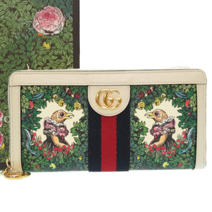 Gucci Higuchi Yuko round zipper long wallet 523154 Japan limited 0242 GUCCI