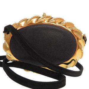 Hermes vintage shoulder bag metal / dobris navy gold 0154 HERMES
