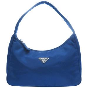 Prada nylon accessory pouch blue 0156 prada