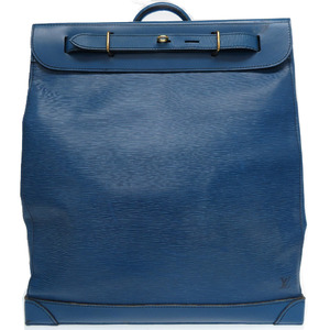Louis Vuitton Epi Steamer SP Order Boston Bag Blue LV 0004 LOUIS VUITTON