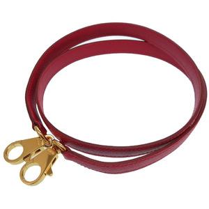 Hermes kelly strap kushbell rougevif shoulder red 0106 HERMES