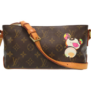 Louis Vuitton Monogram Panda Troter Shoulder Bag M51241 Takashi Murakami LV 0030 LOUIS VUITTON