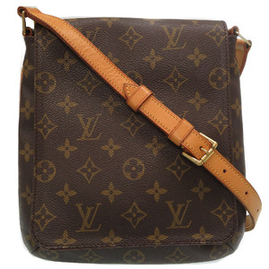 Louis Vuitton Monogram Musette Salsa Short M51258 Shoulder Bag Brown LV 0019 LOUIS VUITTON