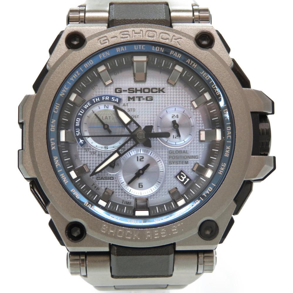 100% authentic ebee2 057c2 Casio G-Shock MT-G Hybrid Radio Solar Chronograph MTG-G1000 Watch Blue 0160  CASIO Men | eLady.com