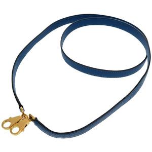 Hermes Kushbell Blue France Gold Hardware Shoulder Bag Kelly Strap 0173 HERMES