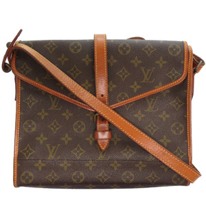 Louis Vuitton Monogram Vintage Shoulder Bag Brown LV 0023 LOUIS VUITTON