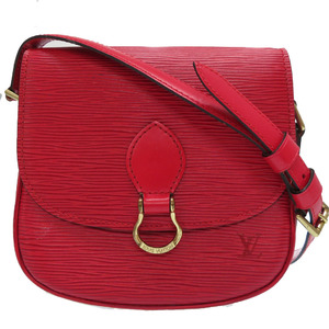 Louis Vuitton Epi Mini Sun Crew M52217 Castilian Red Shoulder Bag LV 0015 LOUIS VUITTON
