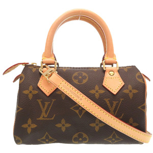 Louis Vuitton Monogram Mini Speedy M41534 2WAY Handbag Bag LV 0259 LOUIS VUITTON