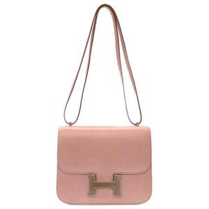 Hermes Constance 3 Mini Box Nepal Lilac Silver Hardware □ E Stamp Shoulder Bag 0260 HERMES