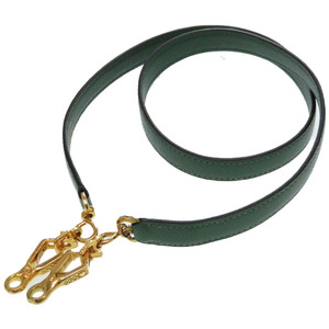 Hermes Kushbell Veil Gold Hardware Shoulder Strap Kelly Green 0165 HERMES