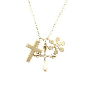 AHKAH Neige Gran Yellow Gold (18K) Diamond Women's Casual Pendant Carat/0.009 (Yellow Gold)