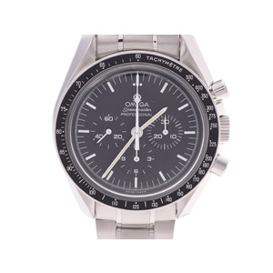 Omega Speedmaster Professional Black Dial 3572.50 Men's SS Manual Winding Back Skelton Watch A Rank OMEGA Used Ginzo