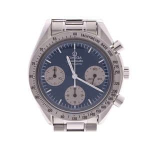 Omega Speedmaster Japan Limited Blue Dial 3510.82 Men's SS Automatic Wrist Watch A Rank OMEGA Gala Used Ginzo