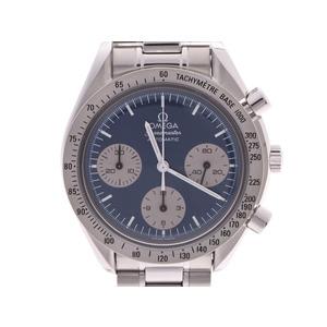 オメガ スピードマスター 日本限定 ブルー文字盤 3510.82 メンズ SS 自動巻 腕時計 Aランク OMEGA ギャラ 中古 銀蔵