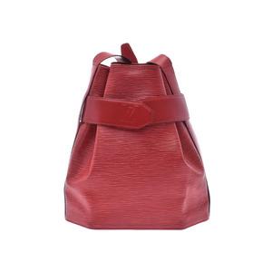 ルイ・ヴィトン(Louis Vuitton) ルイヴィトン エピ サックデポール 赤 M80207 レディース メンズ 本革 ワンショルダーバッグ Bランク LOUIS VUITTON 中古 銀蔵
