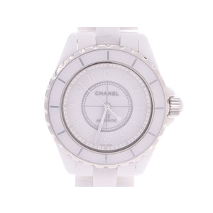 CHANEL J12 White Phantom Ceramic Automatic Mens Watch H3443