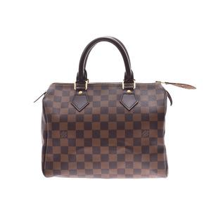 ルイ・ヴィトン(Louis Vuitton) ルイヴィトン ダミエ スピーディ25 ブラウン N41532 レディース 本革 ハンドバッグ Aランク 美品 LOUIS VUITTON 中古 銀蔵
