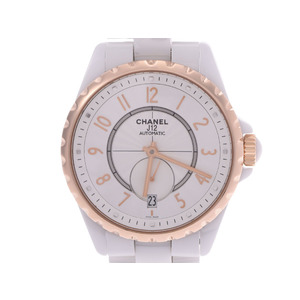 CHANEL J12 18K Gold Ceramic Automatic Unisex Watch H3839