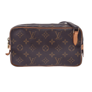 ルイ・ヴィトン(Louis Vuitton) ルイヴィトン モノグラム マルリーバンドリエール ブラウン M51828 レディース メンズ 本革 ショルダーバッグ Bランク LOUIS VUITTON 中古 銀蔵