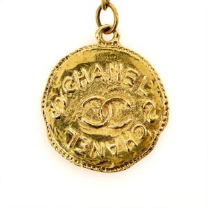 シャネル(Chanel) レディース ペンダントネックレス (ゴールド) プレートネックレス
