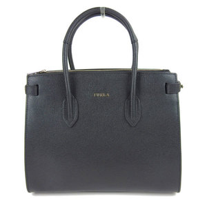 FURLA full la PIN S TOTE 2WAY tote bag shoulder black 942235