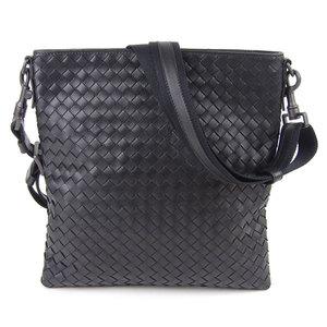 Bottega Veneta Intrechart Crossbody Shoulder Bag Black Men 276357