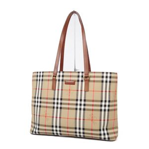 Burberry BURBERRY Horse Ferry Check Handbag Semi Shoulder Bag Ladies Beige / Brown