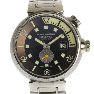 Louis Vuitton LOUIS VUITTON tambour diving men automatic volume watch Q1031