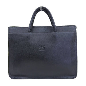 Irbizonte IL BISONTE cow leather tote bag 3 room briefcase black reference price 90000 yen purchased in March 2018