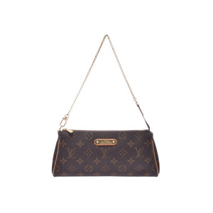 Louis Vuitton Monogram EVA Brown M95567 Ladies Genuine Leather 2WAY Bag AB Rank LOUIS VUITTON