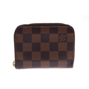 ルイ・ヴィトン(Louis Vuitton) ルイヴィトン ダミエ ジッピーコインケース ブラウン N63070 メンズ レディース 本革 小銭入れ Bランク LOUIS VUITTON 中古 銀蔵