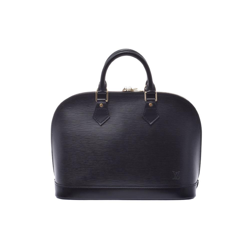 ルイ・ヴィトン(Louis Vuitton) ルイヴィトン エピ アルマ 黒 M52142 レディース 本革 ハンドバッグ ABランク LOUIS VUITTON 中古 銀蔵
