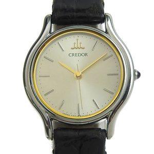 Genuine SEIKO Seiko Credor Ladies Quartz Wrist Watch 7371-0020