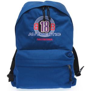 Balenciaga nylon backpack 503221 rucksack daypack blue 0191 BALENCIAGA