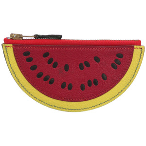 Hermes fruit watermelon motif coin case small change wallet 〇X stamp 0082 HERMES