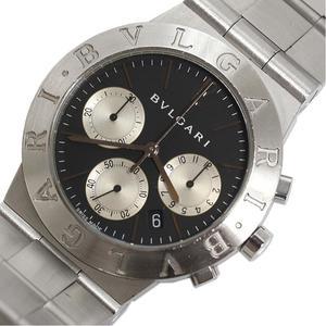 Bvlgari BVLGARI Diagono Sport CH35S Black Quartz Men's Watch