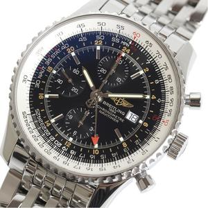 Breitling BREITLING Navitimer World A24322 Black Automatic Men's Watch