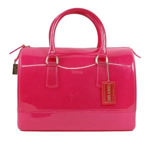 Furla FURLA Candy Satchel Pink Handbag Ladies