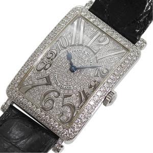 Franck Muller FRANCK MULLER Long Island 952QZDCD WG Diamond Bezel × Dial Quartz Ladies Watch