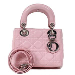 Christian Dior Mini Lady CAL44501 Pink Handbag Ladies